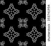 abstract seamless pattern ... | Shutterstock .eps vector #353741954