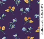 seamless pattern with...   Shutterstock .eps vector #353743319