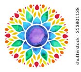 7 Color Of Chakra Sign Symbol ...