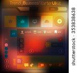 trendy abstract ui kit starter...