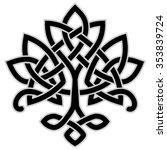 vector ornament  decorative... | Shutterstock .eps vector #353839724