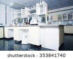 interior of clean modern white