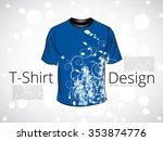 t shirt. vector   Shutterstock .eps vector #353874776