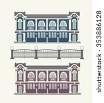 detail picture of traditional... | Shutterstock .eps vector #353886128