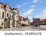 pszczyna  poland   april 21 ... | Shutterstock . vector #353891378