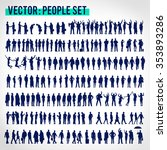 vector business people... | Shutterstock .eps vector #353893286