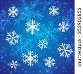 elegant seamless pattern with... | Shutterstock .eps vector #353902853