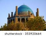 dome of soltaniyeh near zanjan...   Shutterstock . vector #353920664
