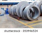 rolls of metal sheet  for...   Shutterstock . vector #353946524