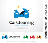 car cleaning logo template... | Shutterstock .eps vector #353966468