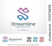 xtreamline letter x logo...