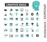 creative technology  ideas ... | Shutterstock .eps vector #353992469