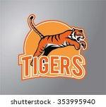 tiger symbol illustration design | Shutterstock .eps vector #353995940