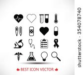 medical icons | Shutterstock .eps vector #354078740