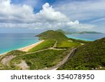 view of the island st.kitts.... | Shutterstock . vector #354078950