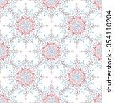 abstract seamless pattern.... | Shutterstock .eps vector #354110204