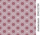 vector seamless pattern.... | Shutterstock .eps vector #354111734