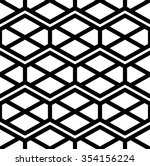black and white abstract... | Shutterstock .eps vector #354156224
