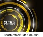 abstract technology circles...