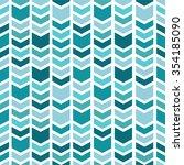 Geometric seamless pattern. Chevron pattern. | Shutterstock vector #354185090