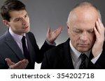 businessmen under pressure | Shutterstock . vector #354202718