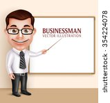 3d realistic professional... | Shutterstock .eps vector #354224078