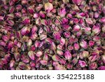 Dried Rosebuds Background...