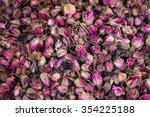 Dried Rosebuds Background...