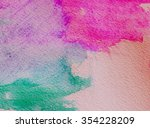 abstract colored background | Shutterstock . vector #354228209
