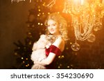 christmas party  winter... | Shutterstock . vector #354230690
