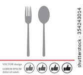 dishware vector icon