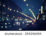 Defocused Night City Life  Car...