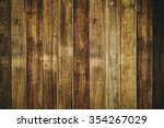 wooden brown background | Shutterstock . vector #354267029