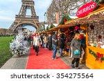 paris  france   december 16 ... | Shutterstock . vector #354275564