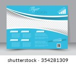 flyer  brochure  magazine cover ... | Shutterstock .eps vector #354281309