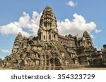 ancient building in cambodia | Shutterstock . vector #354323729