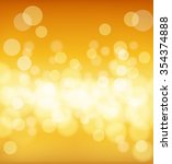 abstract golden background with ... | Shutterstock .eps vector #354374888
