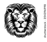lion head | Shutterstock . vector #354396998