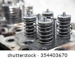 model of a vehicle engine ... | Shutterstock . vector #354403670