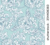 elegance seamless pattern with... | Shutterstock .eps vector #354408383