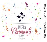 christmas star  | Shutterstock .eps vector #354417590