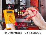 electrician | Shutterstock . vector #354518039