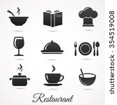 restaurant icon collection....