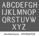 hand drawing typography... | Shutterstock .eps vector #354582920