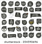 premium quality modern labels... | Shutterstock .eps vector #354590696