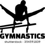 Gymnastics With Man At Paralle...