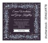 Winter Wedding Invitation Card...