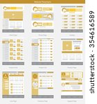 website structure and gold web...