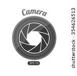 camera photography design ... | Shutterstock .eps vector #354626513