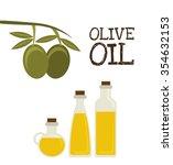 olive oil design  vector... | Shutterstock .eps vector #354632153